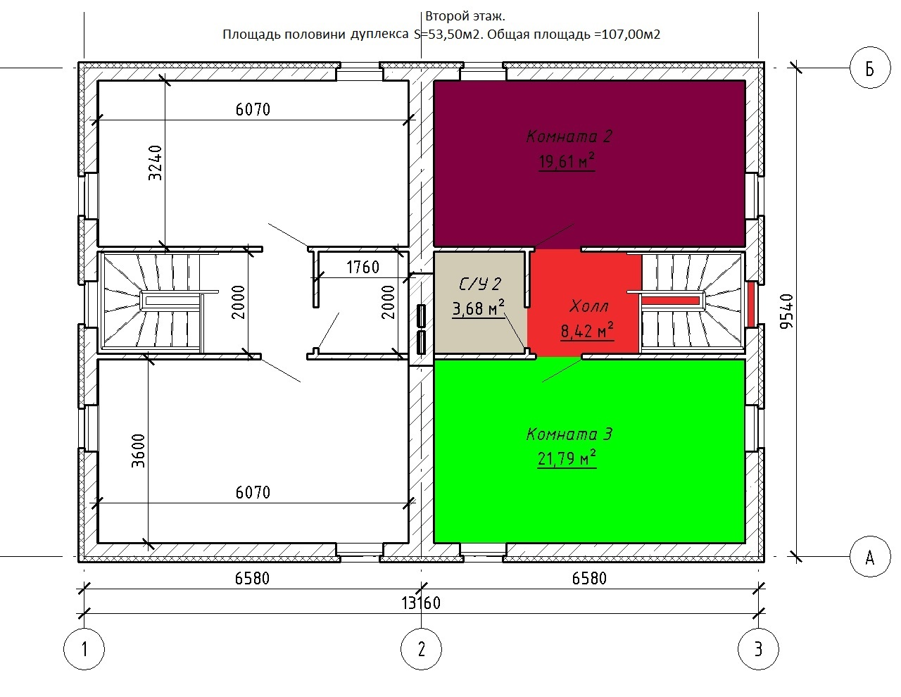 Нажмите на изображение для увеличения Название: Новые ТХ - План этажа - Этаж 2.jpg Просмотров: 71 Размер:211.2 Кб ID:540397